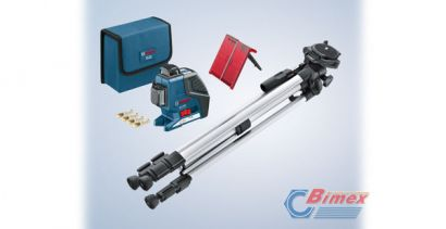 BOSCH LASER GLL 3-80 P + STATYW BS 250